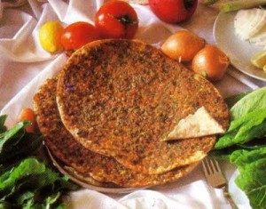 lahmacun 11 300x235 GAZİANTEP   Gaziantep Yemek Kültürü