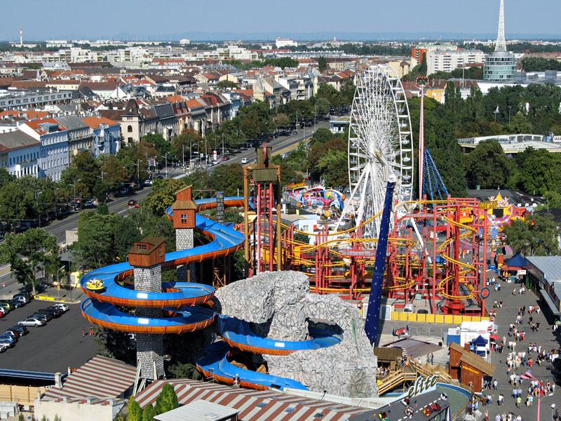 Viena Prater1 Avrupanın Alternatif Eğlence Parkları