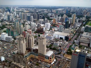 Bangkok from the sky1 300x225 BANGKOK – 3.gün BANGKOK