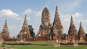 Wat Chiwatthanaram Ayutthaya Thailand1 300x168 BANGKOK – 5.gün Kanal Turu, Yüzen Çarşı
