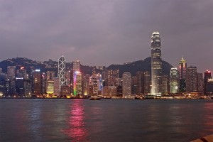 baie de hong kong by night1 300x200 HONG KONG – 6.gün Bangkok, HONG KONG