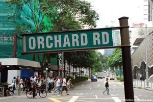orchard road1 300x200 SİNGAPUR – 2.gün SİNGAPUR, SENTOSA