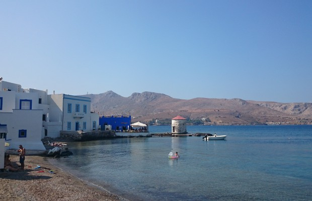 Leros island Mylos restaurant