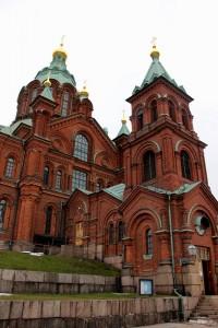 Helsinki kırmızı kilise