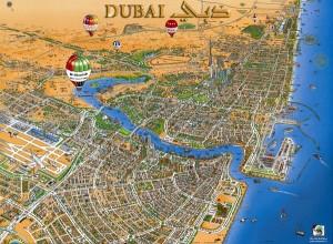 Dubai-Gezilecek-Yerler-Haritası
